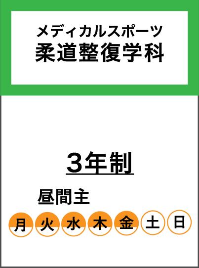 メディカルスポーツ柔道整復学科