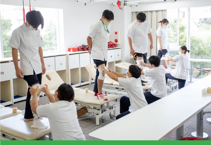 メディカルスポーツ 柔道整復学科