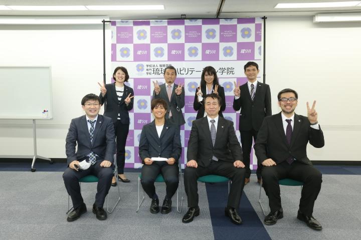 琉リハ 女子サッカー部が始動!!