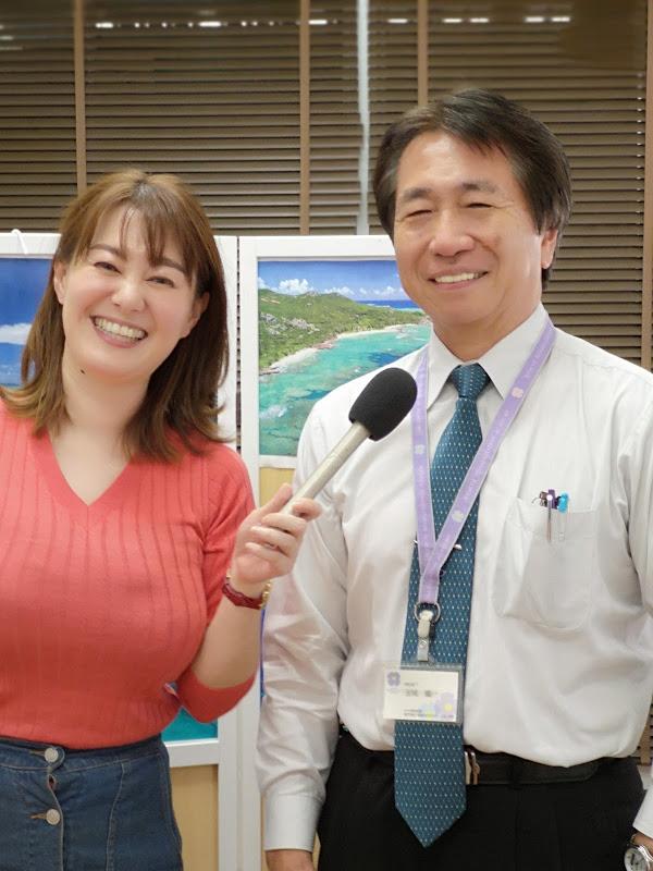 玉城学院長📻ラジオ沖縄「おはようインタビュー」出演のお知らせ